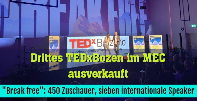 """""""Break free"""": 450 Zuschauer, sieben internationale Speaker"""