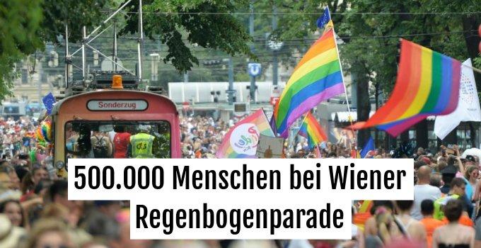 Hunderttausende bei der Parade dabei