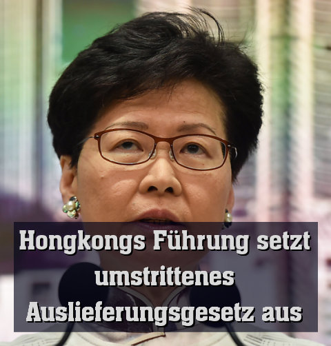 Regierungschefin Carrie Lam