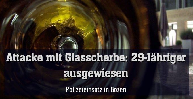 Polizeieinsatz in Bozen