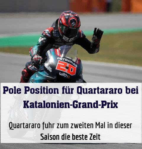 Quartararo fuhr zum zweiten Mal in dieser Saison die beste Zeit