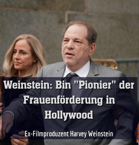 Ex-Filmproduzent Harvey Weinstein