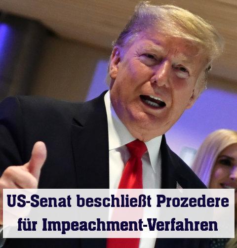 US-Präsident Trump gibt sich zuversichtlich
