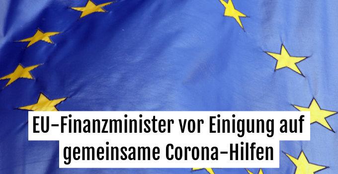 Die EU steht vor Einigung auf Corona-Hilfspaket über 500 Mrd. Euro