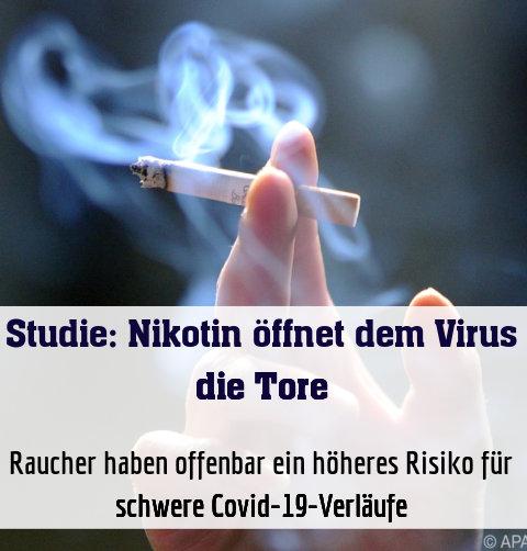 Raucher haben offenbar ein höheres Risiko für schwere Covid-19-Verläufe