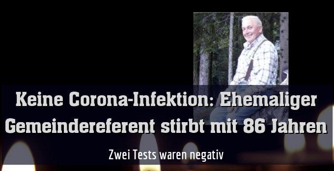 Zwei Tests waren negativ