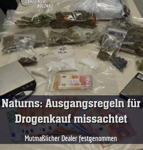 Mutmaßlicher Dealer festgenommen