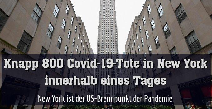New York ist der US-Brennpunkt der Pandemie