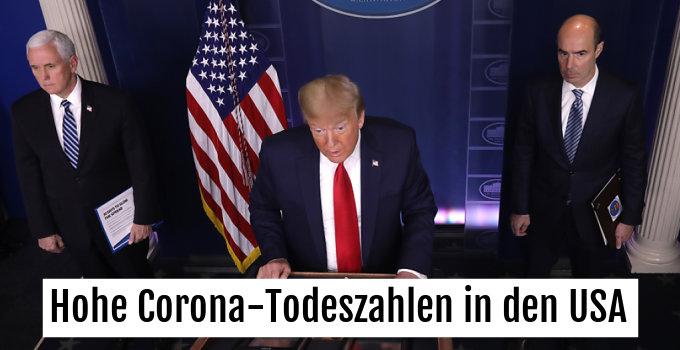 US-Präsident Trump sieht den Höhepunkt der Krise erreicht