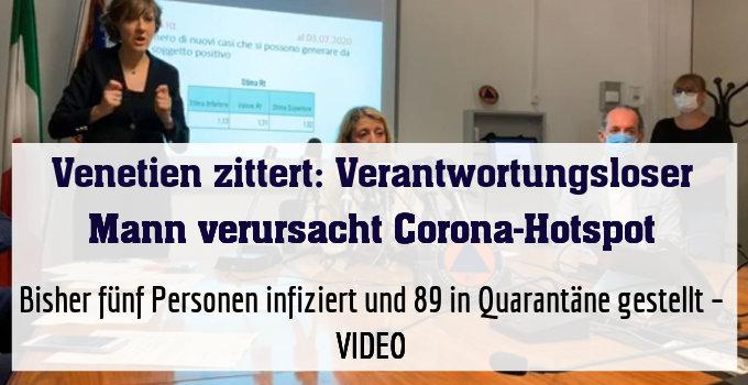 Bisher fünf Personen infiziert und 89 in Quarantäne gestellt – VIDEO