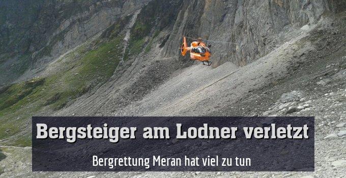 Bergrettung Meran hat viel zu tun