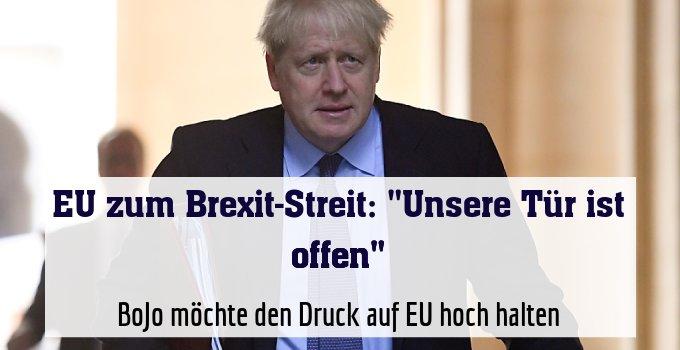 BoJo möchte den Druck auf EU hoch halten
