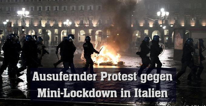In Turin und Mailand kam es zu Ausschreitungen