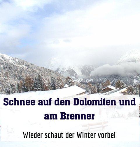 Wieder schaut der Winter vorbei