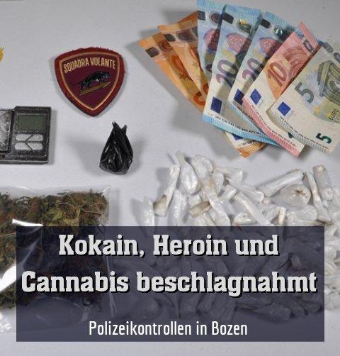 Polizeikontrollen in Bozen