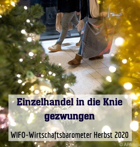 WIFO-Wirtschaftsbarometer Herbst 2020