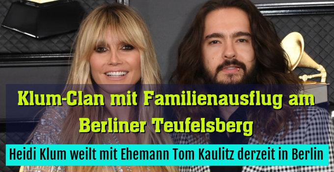 Heidi Klum weilt mit Ehemann Tom Kaulitz derzeit in Berlin
