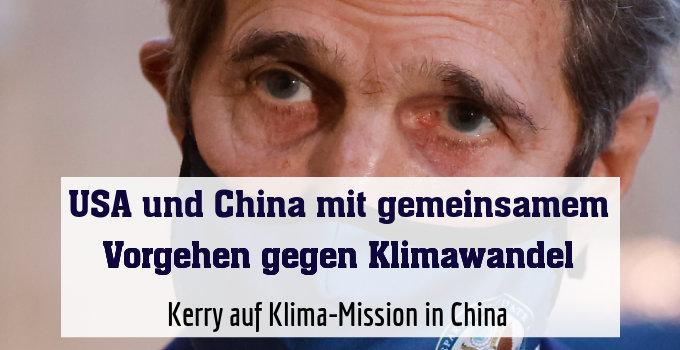Kerry auf Klima-Mission in China