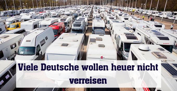 Camper-Demo in Berlin vor Abfahrt
