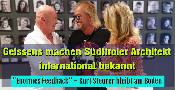 """""""Enormes Feedback"""" - Kurt Steurer bleibt am Boden"""