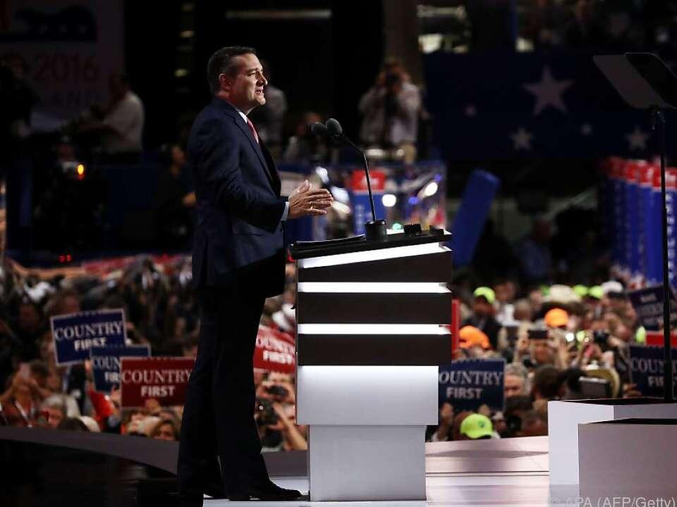 Cruz sorgte für Eklat auf dem Konvent der Republikaner