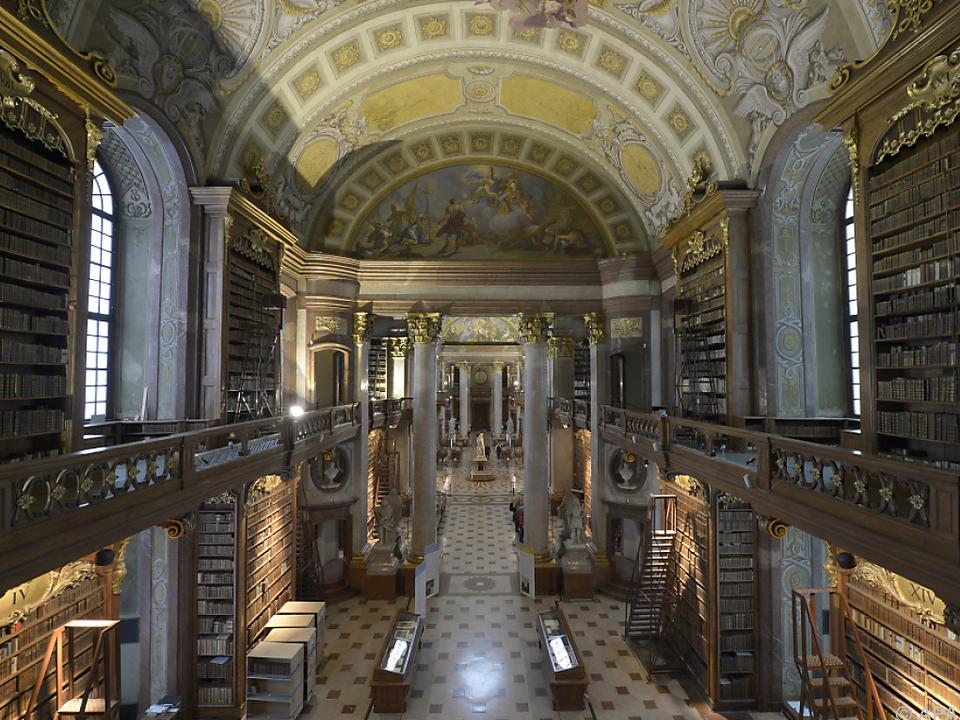 Der Prunksaal der Nationalbibliothek kann nun online erkundet werden