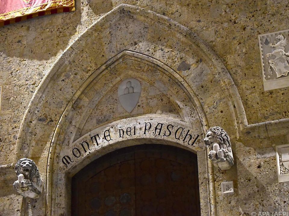 Die Bank mit Sitz in Siena darf gerettet werden