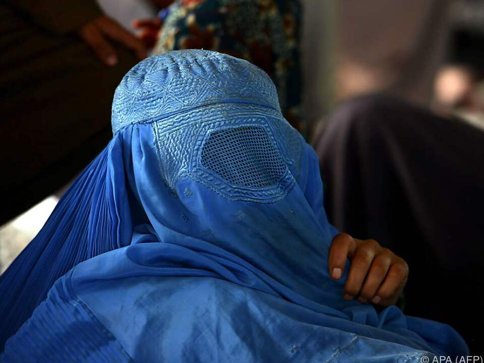 Die Burka sollte verboten werden