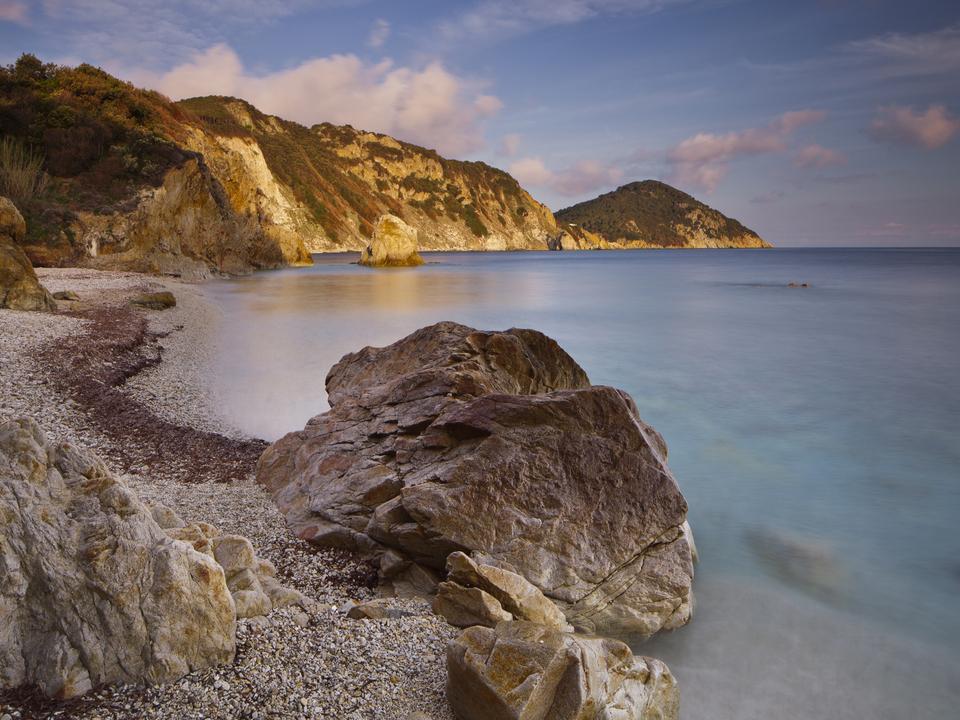 Felsen Spiaggia Sansone, Elba, Toskana, Italien urlaub meer