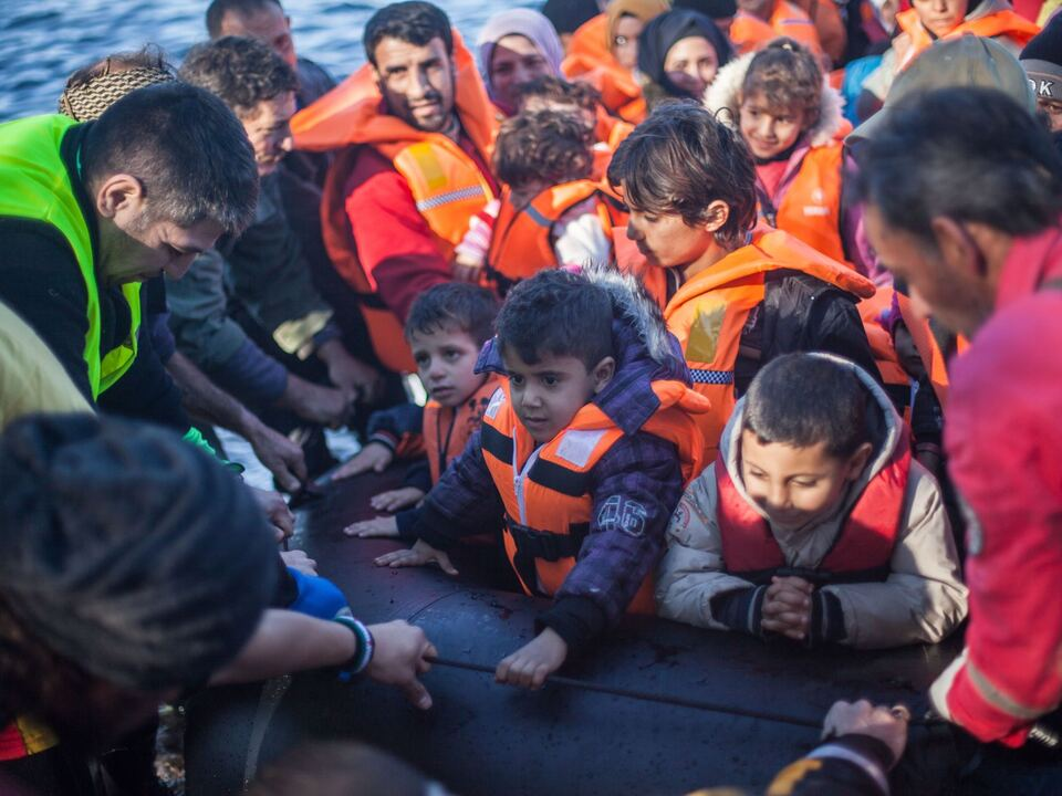 flüchtling boot