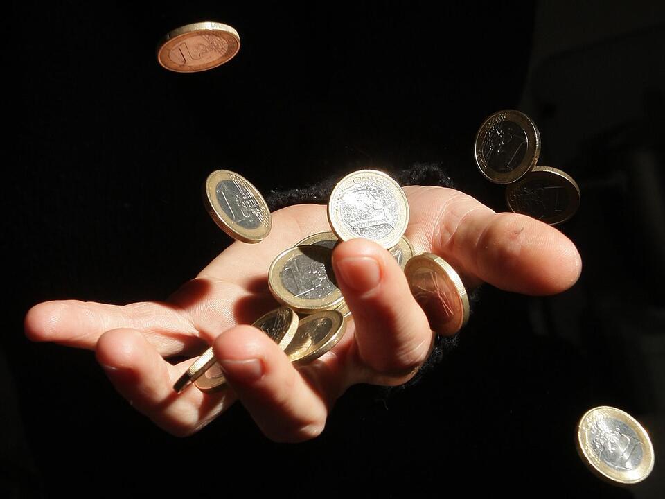 geld inflation münze