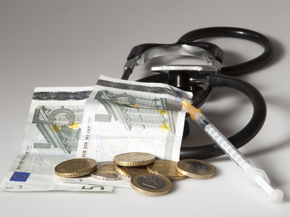 Gesundheitskosten geld krankenhaus