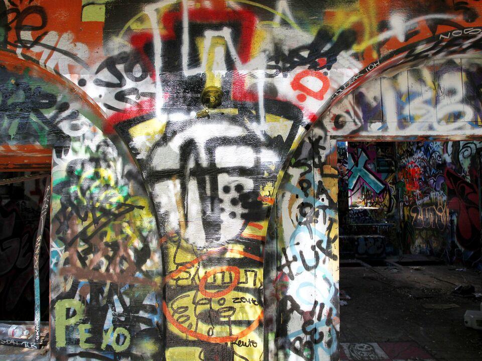 grafitti vandalismus