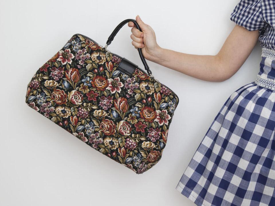 Handtasche shopping einkauf frau