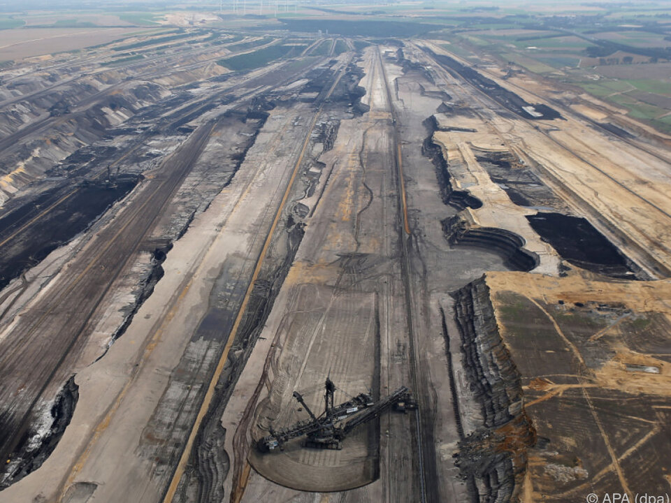 Hier wird tonnenweise Kohle abgebaut