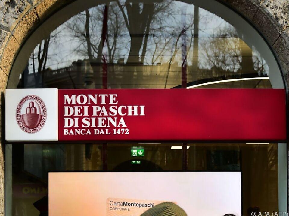 Italienisches Bank-Haus unter Druck
