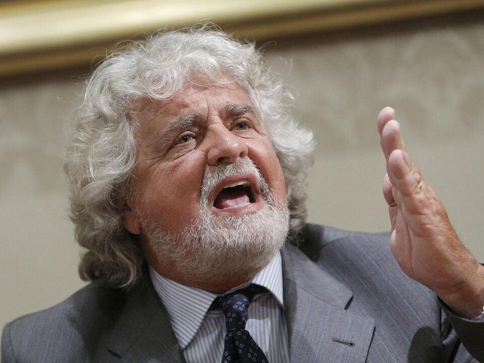 ITALY POLITICS PARTIES GRILLO beppe grillo m5s