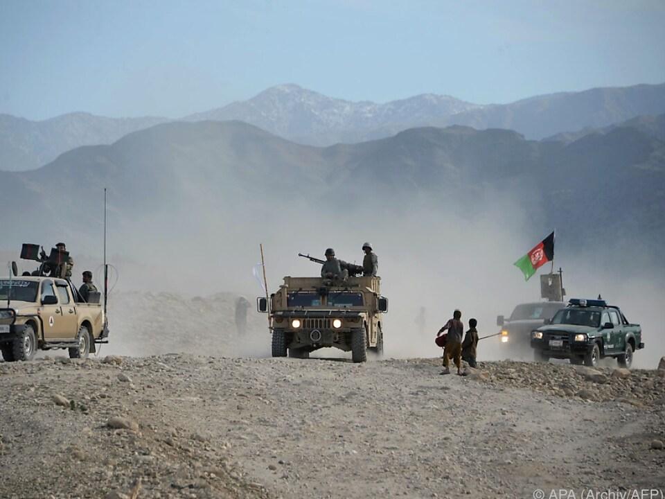 krieg isis In den vergangenen Tagen tötete das afghanische Militär 270 IS-Kämpfer