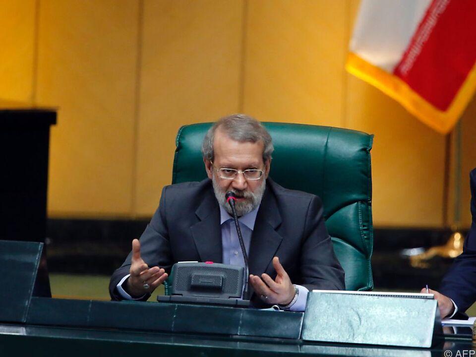 Larijani sieht noch viele Hindernisse
