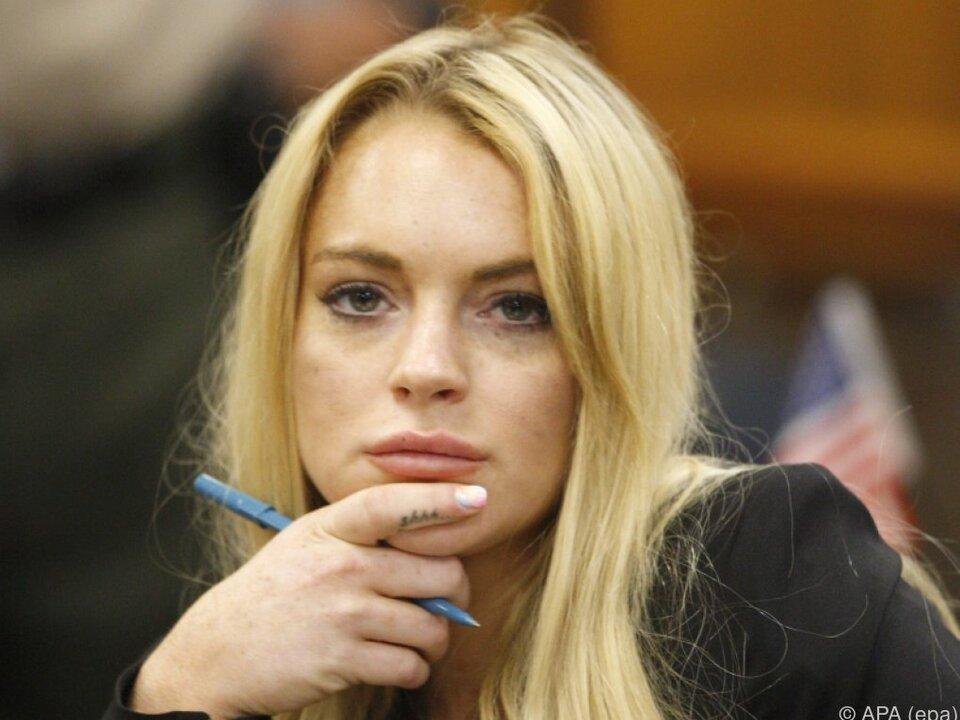 Lohan hat ein gespaltenes Verhältnis zu den Medien