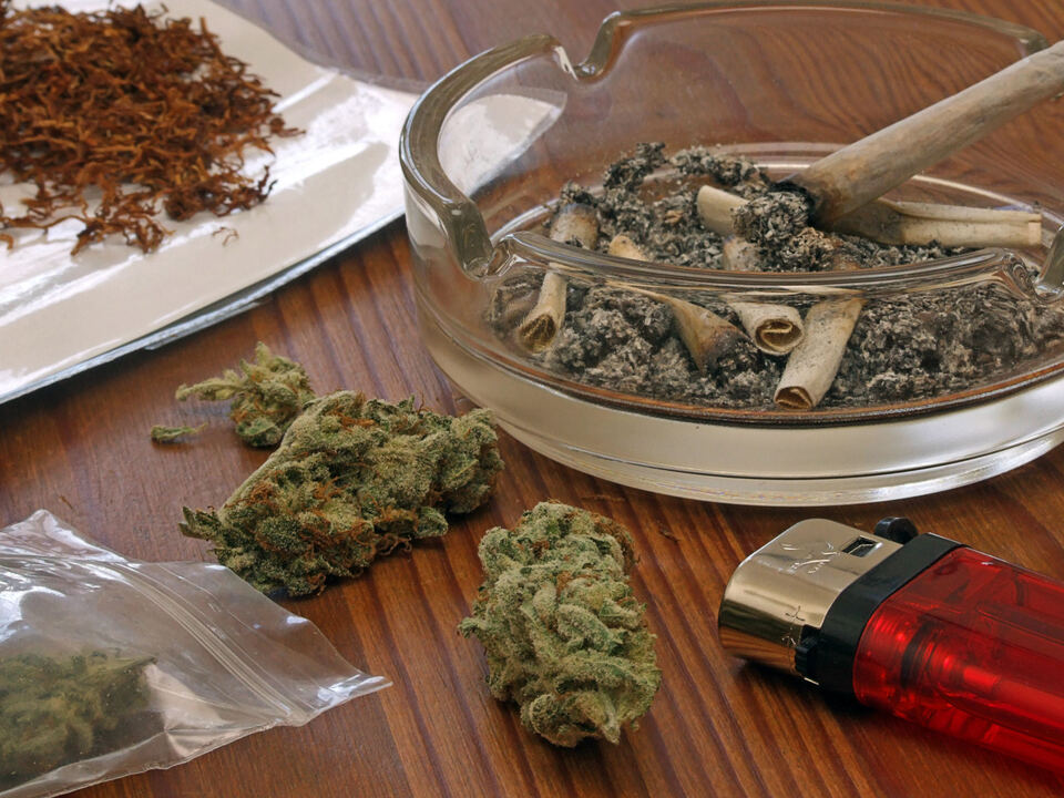 marihuana cannabis drogen joint