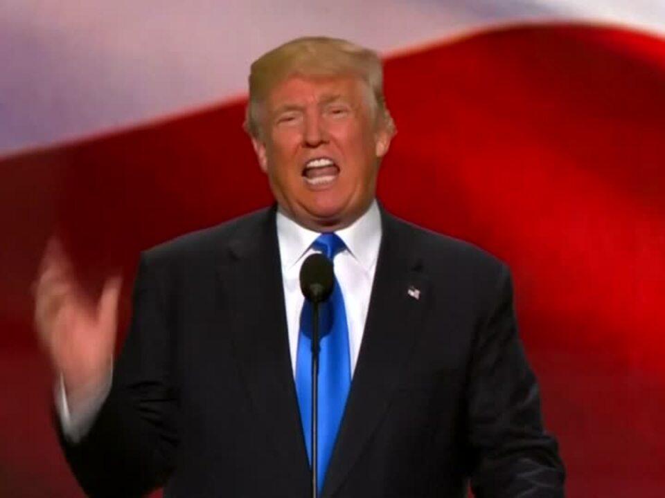 Melania Trump hält Lobesrede auf Ehemann Donald