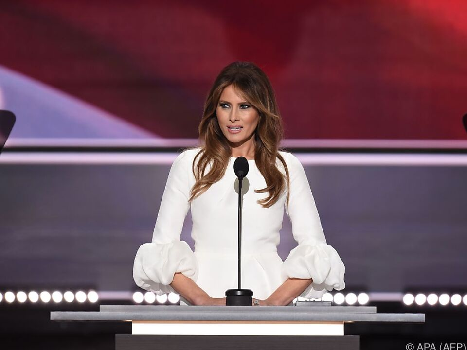 Melania Trump ist ein Fan von Michelle Obama