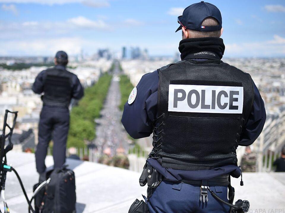Nächster Einsatz für die französische Polizei frankreich