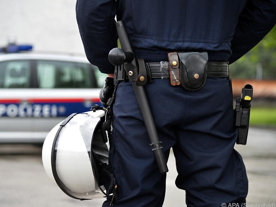 Polizei österreich protest