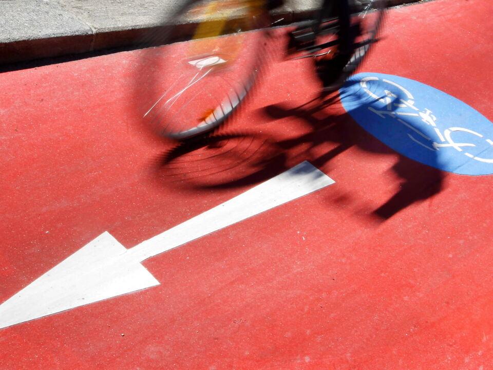Radfahrer, Radweg Wien radfahren fahrrad