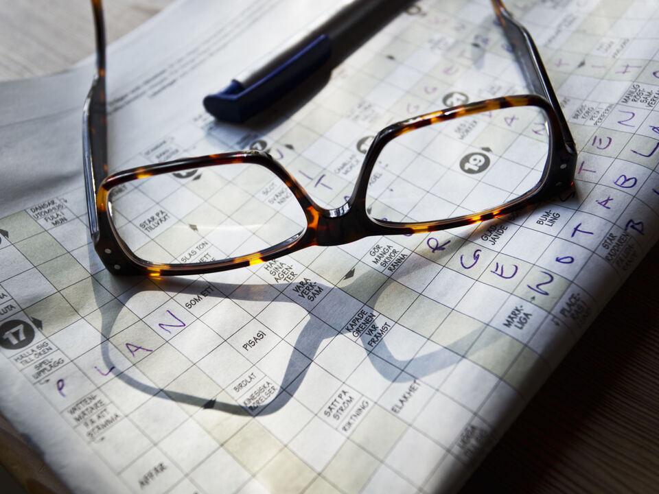 Rätsel Senior Brille Alter