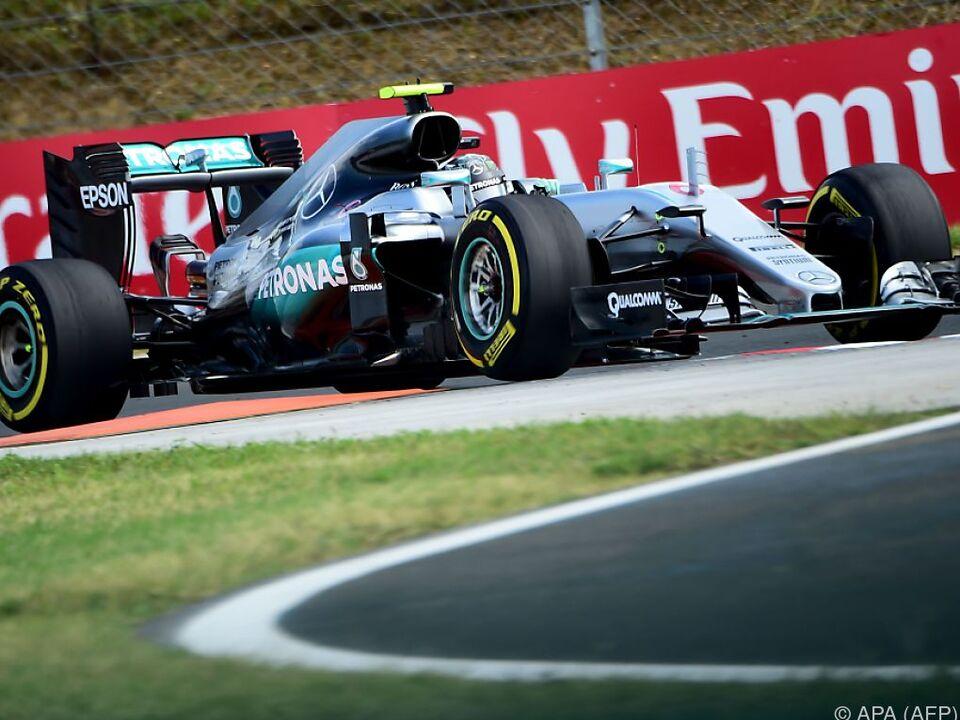 Rosberg überzeugte im letzten Training von Budapest formel 1