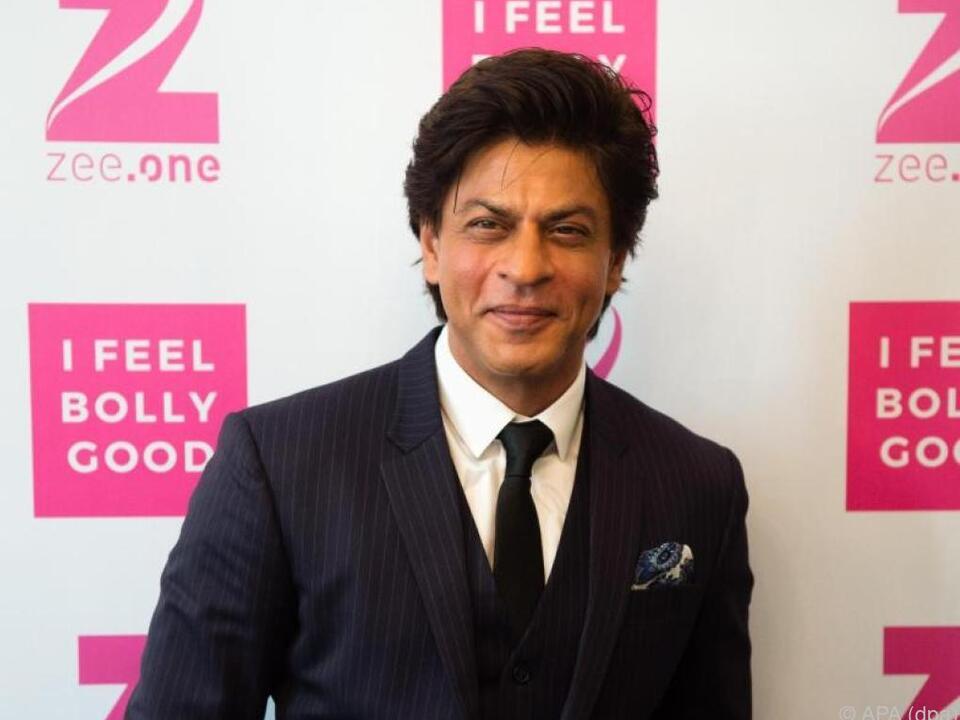 Shah Rukh Khan hat viele Fans weltweit