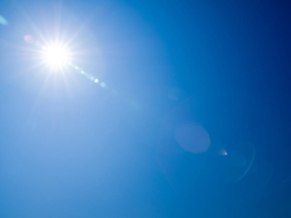 sonne ozon sommer hitze